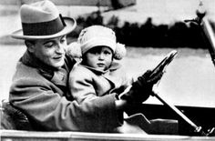F. Scott Fitzgerald with his daughter Scottie