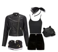 Designer Clothes, Shoes & Bags for Women Leather Jacket, Shoe Bag, Polyvore, Jackets, Stuff To Buy, Shopping, Collection, Design, Women
