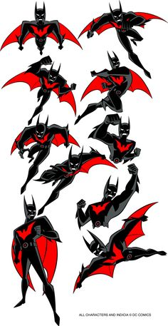 Art of Animation — animationtidbits: Batman Beyond - Batman/Terry...