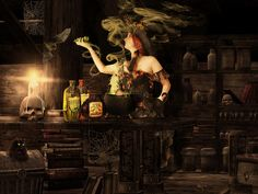 What Type Of Witch Would You Be? Hearth  Hearth witches were usually healers. They worked with plants, stones, flowers, trees, the elemental people, the gnomes and the fairies. They made potions and herbal remedies for protection of hearth and home.