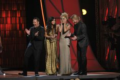 "Little Big Town won Single of the Year for their smash hit ""Pontoon""!"