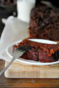 sticky chocolate date loaf