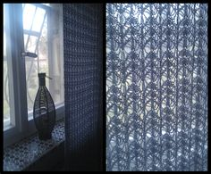 Free Knitting Patterns For Lace Curtains : 1000+ images about Stricken: Gardinen on Pinterest Curtains, Rose leaves an...