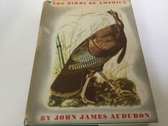 """1953 """"The birds of America"""" book by John James Audubon by Hannahandhersisters on Etsy"""