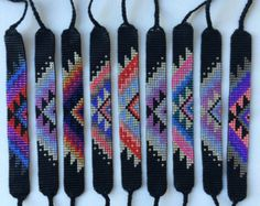 Diy Jewelry Ideas : Seed Bead Friendship Bracelet – Southwestern Gem Pattern -Read More –Etsy の SALE Seed Bead Friendship Bracelets by MichikoJewelryItems similar to Seed Bead Friendship Bracelet - Silver, Neon Peach, Orchid, Periwinkle on EtsyShop Thread Bracelets, Bead Loom Bracelets, Bracelet Crafts, Diy Bracelets How To Make, Homemade Bracelets, Friendship Bracelets With Beads, Friendship Bracelet Patterns, Bead Loom Patterns, Beading Patterns