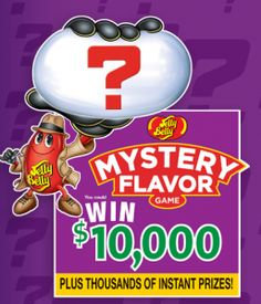 Jelly Belly Mystery Flavor Sweepstakes!