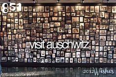 Visit Auschwitz.