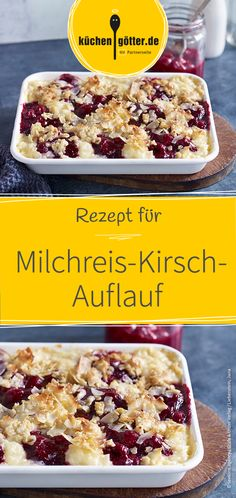 Milchreis-Kirsch-Auflauf Recipe for a fantastic milk rice and cherry casserole. Made easy and delicious! Related posts: Old-Fashioned Rice Pudding Cherry White Chocolate Pudding Cookies Vegan coconut rice pudding Cinnamon Rice Pudding Cherry Pudding Recipes, Pudding Desserts, Dessert Recipes, Snacks Recipes, Best Pancake Recipe, Rice Recipes For Dinner, Cravings, Food Porn, Food And Drink