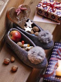 Filzpantoffeln