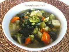 Zuppa di broccoli - Ricette di cucina Il Cuore in Pentola