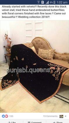 Velvet Shawl, Velvet Suit, Designer Punjabi Suits, Indian Designer Wear, Hand Work Embroidery, Elegant Saree, Pashmina Shawl, Rakhi, Abayas
