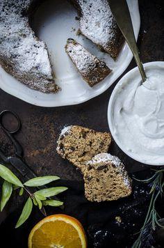 Ciambella #vegan alla panna di cocco con gocce di #cioccolato