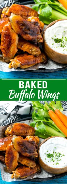 This recipe for baked buffalo wings is ultra crispy baked chicken wings tossed…