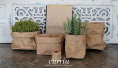 Uashmama washable paper bag for plants #curriudecor #decoration www.curriu.com