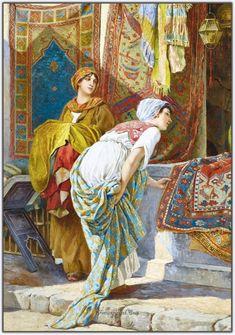 Art For Art Sake, All Art, Landscape Pencil Drawings, Good Old Times, Beautiful Anime Girl, Arabian Nights, Woman Painting, Islamic Art, Art History