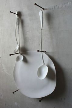 Plate and ladles.
