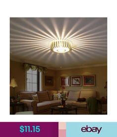 Home Led 3w Hall Light Walkway Porch Decor Lamp Sun Flower Creative Led Ceiling Lights Multicolor Auminun Asile Ceiling Lamps Lights & Lighting Ceiling Lights & Fans