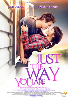 'just the way you are', the launching movie of liza soberano and enrique gil. The film starring forevermore's enrique gil and liza soberano is set. Just the way you are free online movie filipino. Enrique Gil, Streaming Movies, Hd Movies, Teen Movies, Netflix Movies, Watch Movies, Love Movie, Movie Tv, Pop Fiction Books
