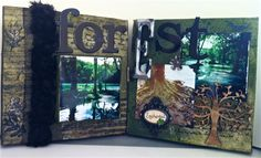 Enchanted Forest Canvas - Scrapbook.com