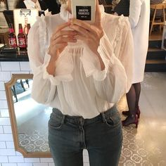 Want these korean fashion outfits Looks Style, Style Me, Look Fashion, Fashion Outfits, Romantic Style Fashion, Street Fashion, Fall Fashion, Fashion Ideas, Mode Ootd