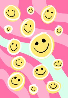 Smiley Face Wallpaper