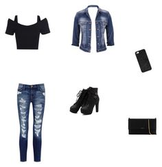 """""""To the mall we go"""" by live-live-freely ❤ liked on Polyvore featuring maurices, Current/Elliott, BaubleBar and Lanvin"""