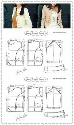 Blazer sewing pattern casual pattern inspiration for the non girly sewist allspice abounds – ArtofitAswathy priya s 452 media analytics – Artofit Coat Patterns, Dress Sewing Patterns, Clothing Patterns, Blazer Pattern, Jacket Pattern, Fashion Sewing, Diy Fashion, Fashion Women, Costura Fashion