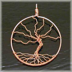 Simple Tree of Life Pendant