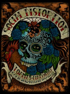 Social Distortion Poster by darrengrealish on Etsy, $30.00