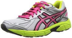 Asics Patriot 7 - Zapatillas de running para mujer, color Silver/Pink/Lime, talla 37.5 - http://paracorrer.com/producto/asics-patriot-7-zapatillas-de-running-para-mujer-color-silverpinklime-talla-37-5/
