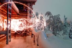 Sparklers in the snow. 5 Fun Outdoor Holiday Traditions to Start this Weekend Traditions To Start, Holiday Traditions, Winter Fun, Winter Christmas, Xmas, Celebrate Good Times, Holiday Festival, Sparklers, Outdoor Fun