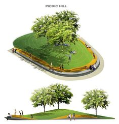 picnic hill landscape architecture에 대한 이미지 검색결과