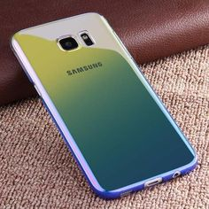 Galaxy S7 Edge Cases For Samsung Galaxy S7 Edge Case Gradient Color PC Back Phone Cover For Samsung S7 Edge Case Coque ARTISOME