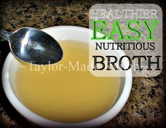 MYO Inexpensive Healthy Chicken Broth - Freeze In Empty Plastic Jars To Use All Season Long!  #TaylorMadeRanch