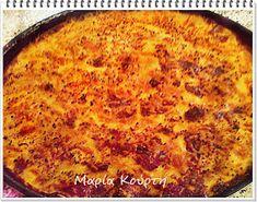 Συνταγές για διαβητικούς και δίαιτα: ΠΑΣΤΙΤΣΙΟ ΜΕ ΜΑΚΑΡΟΝΙΑ ΟΛΙΚΗΣ - ΚΙΜΑ ΣΟΓΙΑΣ - ΜΠΕΣΑΜΕΛ ΒΡΩΜΗΣ Macaroni And Cheese, Pizza, Ethnic Recipes, Food, Mac And Cheese, Meals, Yemek, Eten