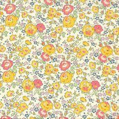 Liberty of London Tana Lawn: Felicite Yellow (E)