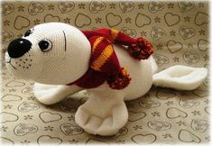 PDF pattern Lucy the Seal English amigurumi seal pattern