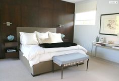 Bed & tables  Courtney Hill Interiors - Portfolio - Bedrooms