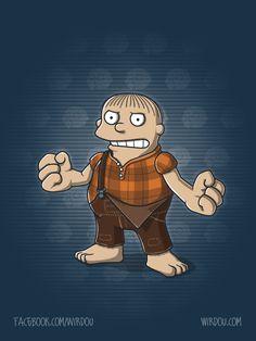 Wreck it Ralph xD
