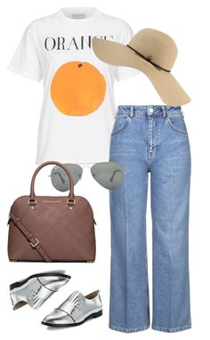 """Untitled #1442"" by erinforde on Polyvore featuring Topshop, Loeffler Randall, Ray-Ban, Coal and MICHAEL Michael Kors"