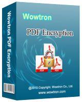WowTron PDF Encryption 2.1.1