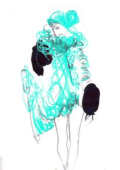 Sister By Sibling by Amelie Hegardt #illustration #fashion illustration#trafficnyc