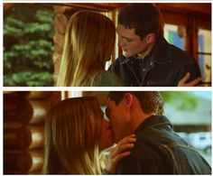 Jake and Mallory's First Kiss Heartland - 7x04 - The Penny Drops