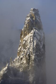 Higher Cathedral Spire, Yosemite National Park, California; photo by Gary Crabbe on 500px