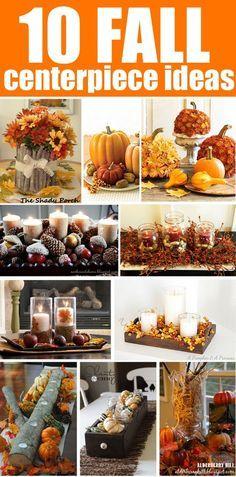 10 Fall Centerpiece Ideas