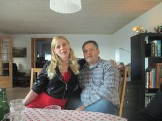 My husband Lasse and I <3