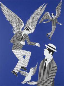 Morpho Butterfly, Blue Morpho, Drawing Sketches, Drawings, Blue Wings, Greek Art, Bond Street, Oil On Canvas, Modern Art