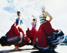Flamenco dancing is good calorie burning exercise! Lance Armstrong says so...
