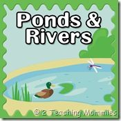 ponds and rivers