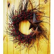 Wreath with stars